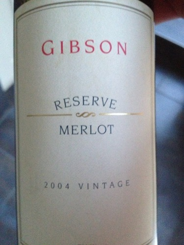 吉布森珍藏梅洛干红Gibson Reserve Merlot