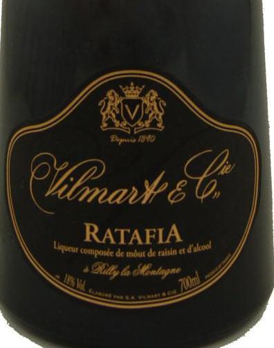 威尔马特哈塔飞亚利口酒Vilmart Ratafia Liqueur