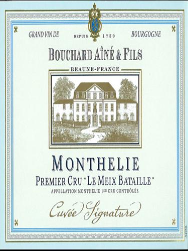 Bouchard-Aine & Fils Monthelie Le Meix Bataille Cuvee Signature