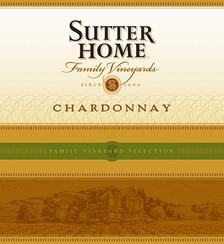 舒特家族霞多丽干白SUTTER HOME Chardonnay