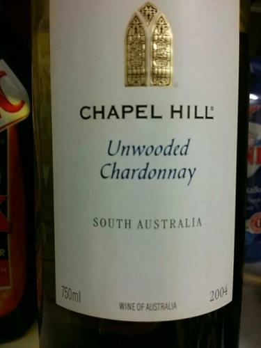 礼拜山木霞多丽干白Chapel Hill Unwooded Chardonnay