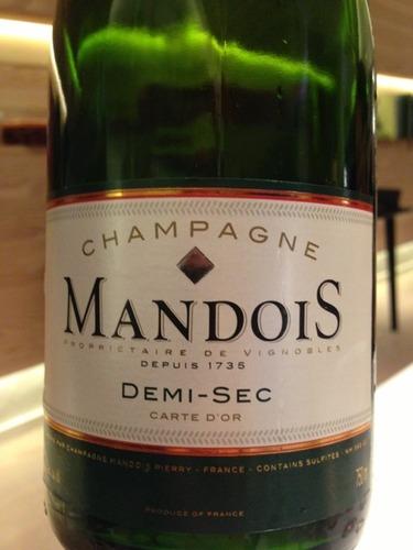 亨利曼多伊斯半干香槟Henri Mandois Demi-Sec