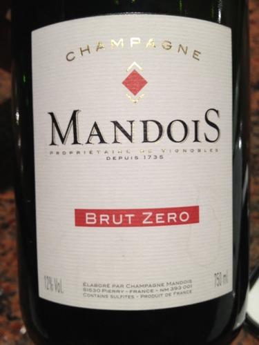 亨利曼多伊斯泽罗干型香槟Henri Mandois Zero Brut