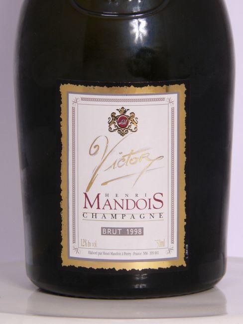 亨利曼多伊斯年份干型香槟Henri Mandois Vintage Brut