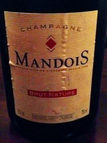 亨利曼多伊斯天然干型香槟Henri Mandois Brut Nature