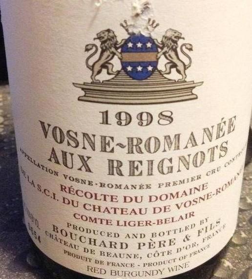 宝尚父子沃恩-罗曼尼干红Bouchard Pere & Fils Vosne-Romanee