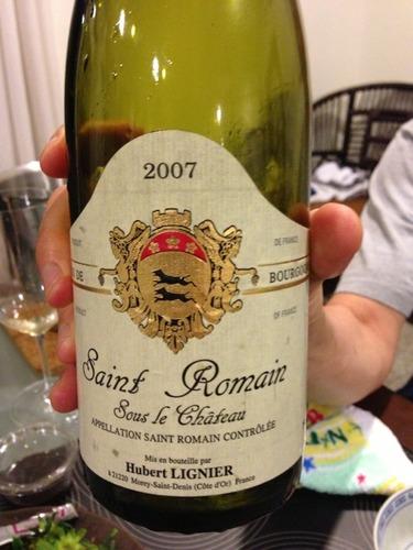 休伯特酒庄干白(圣罗曼)Domaine Hubert Lignier Sous le Chateau