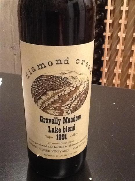 钻石溪碎石草原园-湖园赤霞珠干红Diamond Creek Gravelly Meadow Lake Blend Cabernet Sauvignon
