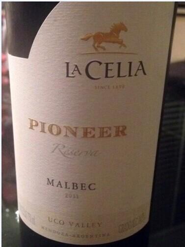 拉希莉亚先锋马尔贝克干红Finca La Celia Pioneer Malbec