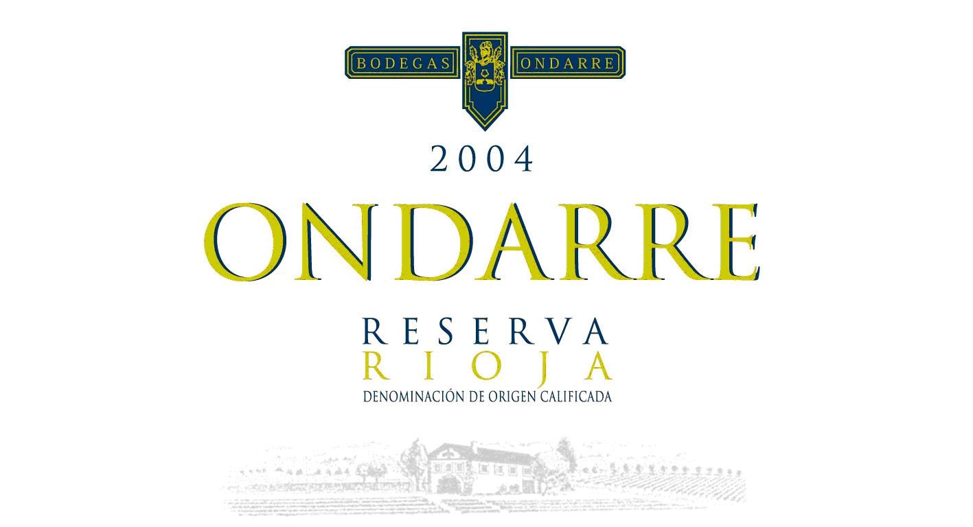 翁达柯雷里奥哈珍藏干红Bodegas Ondarre reserva Rioja