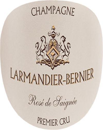 伯尼尔玫瑰一级园绝干型桃红香槟Larmandier-Bernier Rose de Saignee Premier Cru Extra Brut