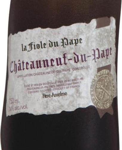 布诺特南隆河非欧勒干红Brotte Chateauneuf du Pape la Fiole