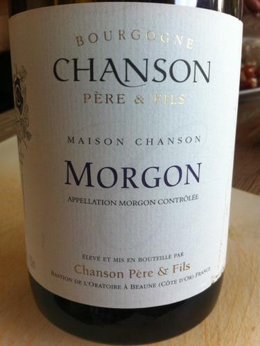 香颂墨贡村干红Chanson Pere & Fils Morgon