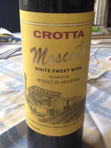 克罗塔莫斯卡托加强酒Bodegas Crotta Moscato