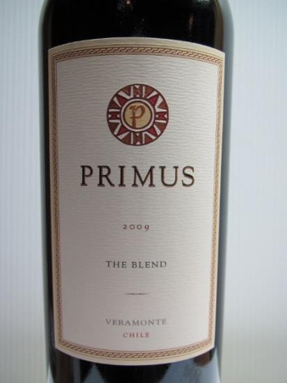 翠岭极品波尔多式混酿干红Veramonte Primus Bordeaux-Style Red Blend