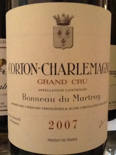 马特莱科尔登干白Domaine Bonneau du Martray Corton Grand Cru Blanc