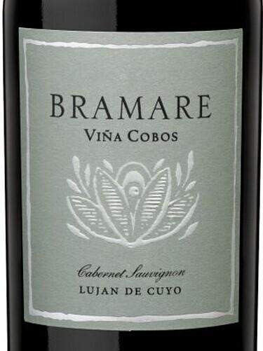 科沃斯百美系列卢汉德赤霞珠干红Vina Cobos Bramare Lujan de Cuyo Cabernet Sauvignon
