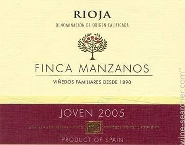 曼扎诺思酒庄新酒Finca Manzanos Joven