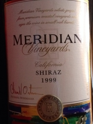 默里迪恩西拉干红Meridian Vineyards Shiraz
