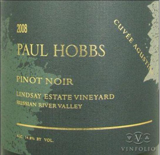 保罗豪斯凯瑟琳黑皮诺干红Paul Hobbs Katherine Lindsay Estate Pinot Noir