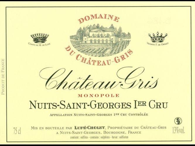 卢普绍莱灰堡园单一葡萄园干红Lupe-Cholet Domaine du Chateau Gris Monopole Rouge