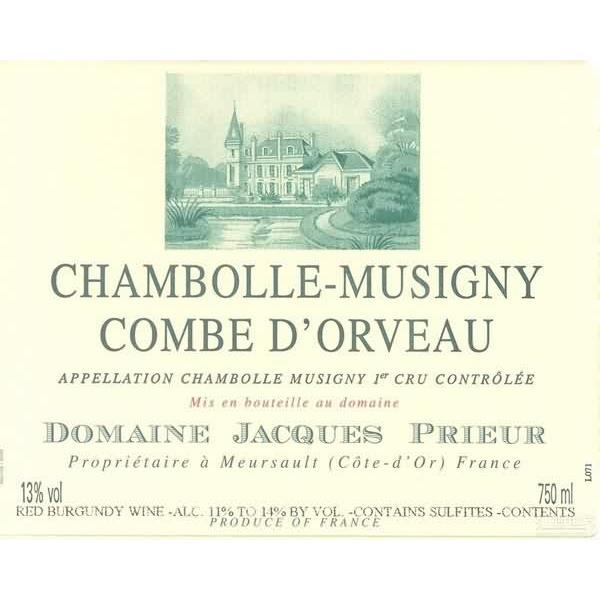 雅克普利尔科姆欧维干红Domaine Jacques Prieur La Combe d'Orveau