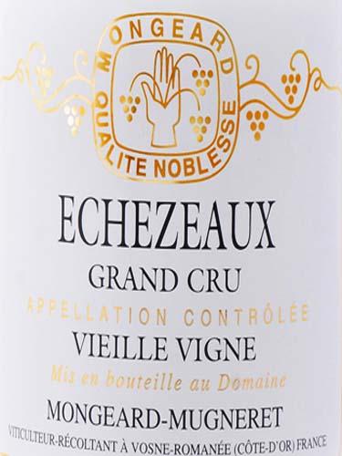 奇梦伊索瑟特级园老藤干红Domaine Mongeard Mugneret Echezeaux Grand Cru Vieilles Vignes