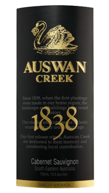 天鹅庄1838系列赤霞珠干红Auswan Creek 1838 Cabernet Sauvignon