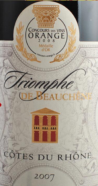 宝尚胜利城堡干红Triomphe de Beauchene