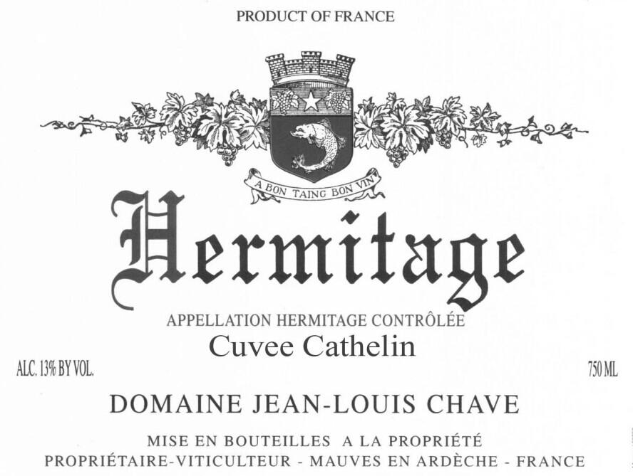 路易沙夫精选珍宝干红Domaine Jean-Louis Chave Selection Mon Coeur