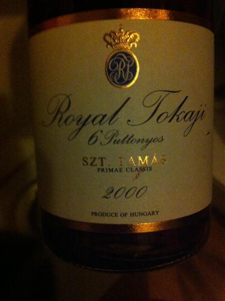 皇家托卡伊托卡伊奥苏6号贵腐甜The Royal Tokaji Wine Company Szt. Tamas Tokaji Aszu 6 Puttonyos