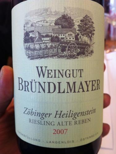 Weingut Willi Brundlmayer Zobinger Heiligenstein Riesling Beerenauslese