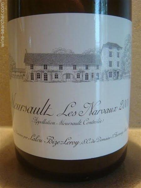 奥维那娜荷梧园干白Domaine d'Auvenay Les Narvaux