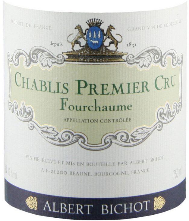 亚伯必修庄园夏布利一级葡园干白Albert Bichot Chablis Premier Cru Fourchaume
