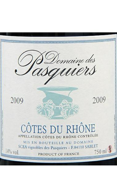 芭思吉酒庄干红Domaine des Pasquiers Cotes du Rhone