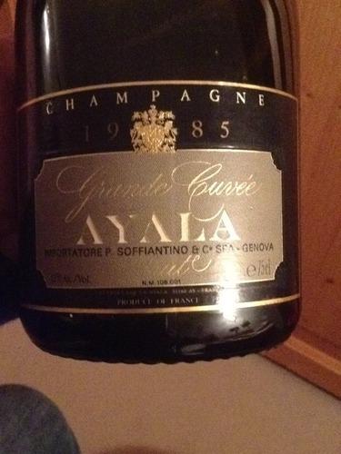 阿雅拉顶级特酿香槟Champagne Ayala Grande Cuvee