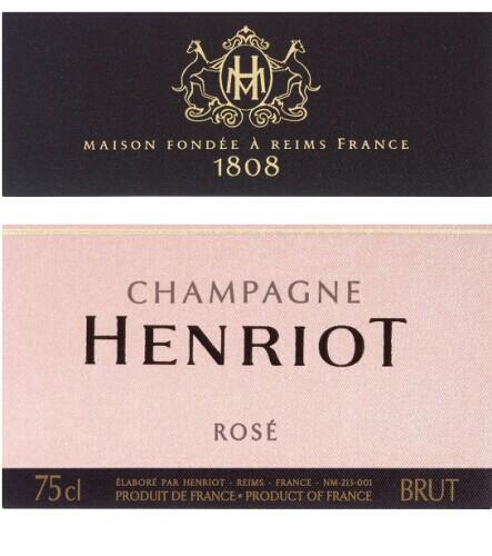 汉诺桃红香槟Champagne Henriot Rose Brut