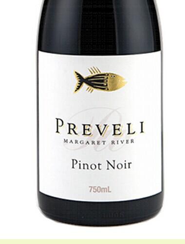 普里威利黑皮诺干红Preveli Wines Pinot Noir