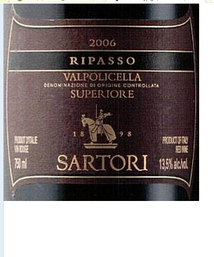桑托利酒庄瓦波利切拉干红Sartori Valpolicella