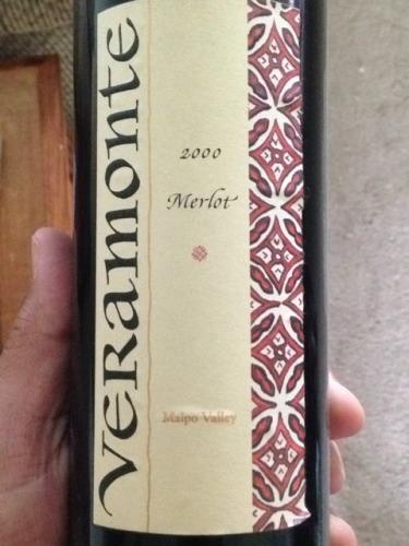 翠岭单一园梅洛干红Veramonte Single Vineyard Merlot