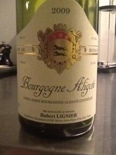 休伯特阿里高特干白Domaine Hubert Lignier Aligote