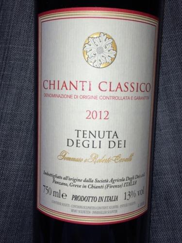 卡沃利经典基安蒂产区干红Cavalli Tenuta Degli Dei Chianti Classico