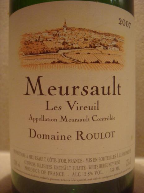 Domaine Roulot Meursault Les Vireuils