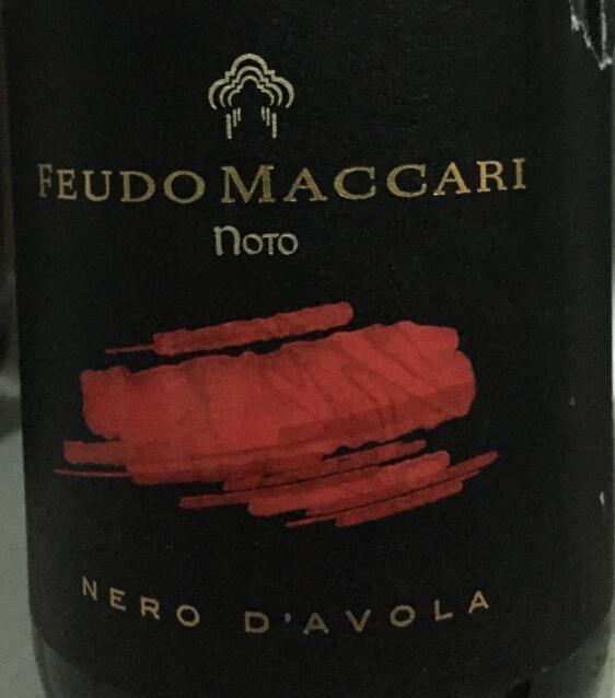 马卡尼黑珍珠干红Feudo Maccari Nero d'Avola