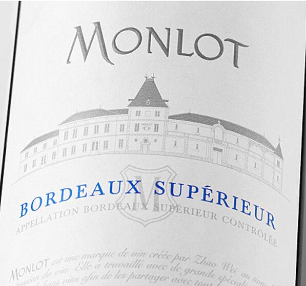 梦陇优选波尔多干红Monlot Bordeaux Superieur