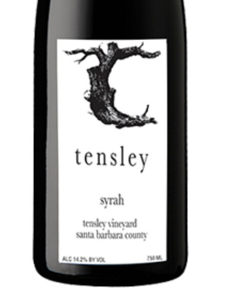 Tensley Syrah Tensley Vineyard