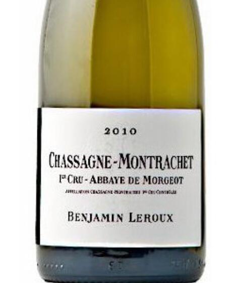 Benjamin Leroux Chassagne-Montrachet 1er Cru Abbaye de Morgeots