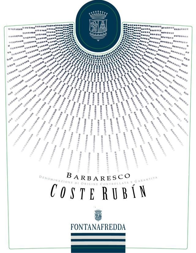 方达娜福达巴巴莱斯科科斯特鲁宾干红Fontanafredda Barbaresco Coste Rubin