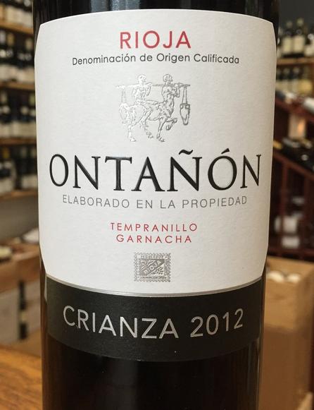 望隆佳酿干红葡萄酒Bodegas Ontanon Crianza