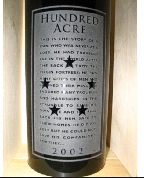 Hundred Acre Vineyard Cabernet Sauvignon Kayli Morgan Vineyard